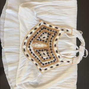 White short dress.